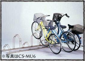 自転車スタンド 自転車ラック 自転車置き場 ダイケン サイクルスタンド サイクルラック 前輪差し込み式 リーズナブルな価格 耐久性に優れたステンレス製