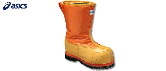 アシックス W-DX-2、FPB001、オレンジ★asics★【安全靴・作業靴・スニーカー・ワーキングシューズ・JSAA規格A種】