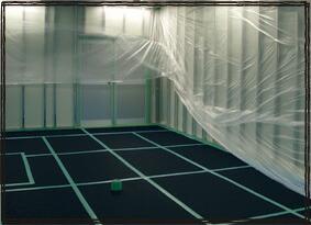 導電ベストボード 床養生材 精密機器の搬入 クリーンルーム 静電気防止