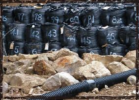 大型土のう袋 300KT 萩原工業 ターピー大型土のう袋 災害 防災 土砂災害 土砂崩れ