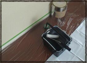 ロールマスカー マスキング 粗い壁にも 屋外に向いている マスキングフィルム