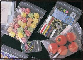 ミナジップ チャック付ポリエチレン袋 ジップロック 包装 パック 小物製品のパック 衣料 食品 薬品などの包装
