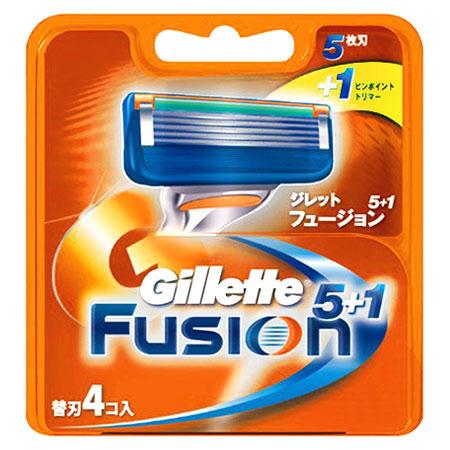 Gillette Fusion 5+1 替刃4コ入