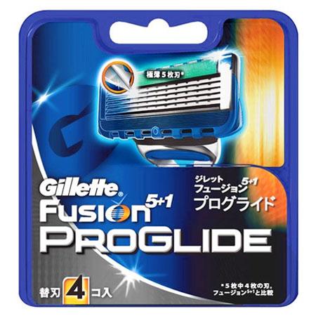 Gillette Fusion プログライド 替刃4コ入