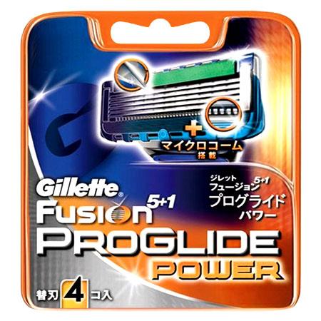 Gillette Fusion プログライドパワー 替刃4コ入