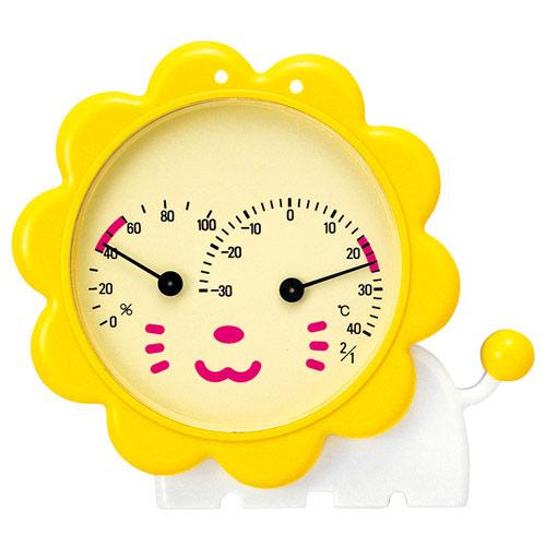 温湿度計 ライオン