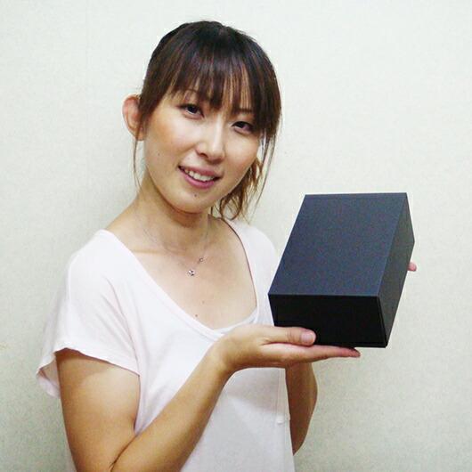 ダンボール組立箱【黒】(No.02)使用イメージ1