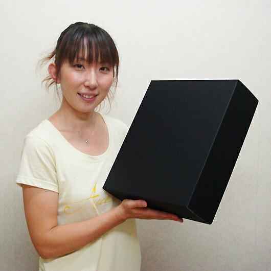 ダンボール組立箱【黒】(No.05)使用イメージ1