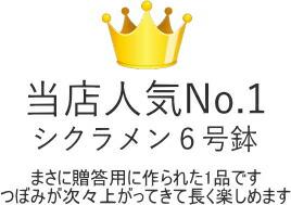 当店人気No.1シクラメン6号鉢