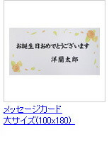 メッセージカード(大)