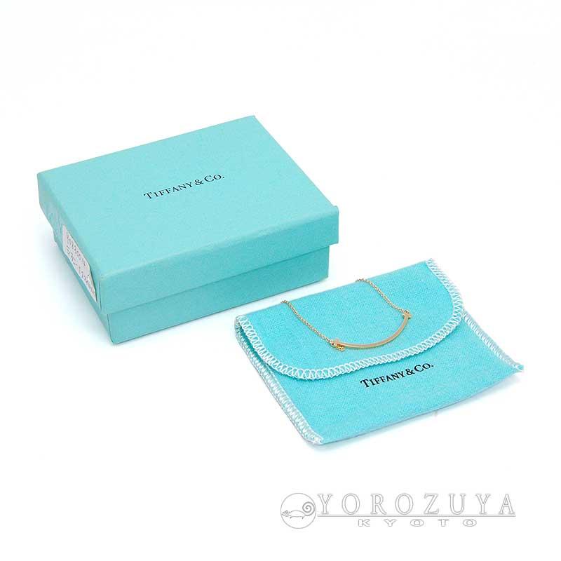 Tiffany&Co. �ƥ��ե��ˡ� �ͥå��쥹 T���ޥ��� �ڥ����ȥߥ� K18PG �ԥ������ �ڥ����ȥͥå��쥹 ����š�