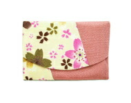 Storm of falling cherry blossoms pocket tissue case