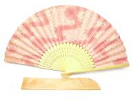 Yuzen Japanese paper folding fan