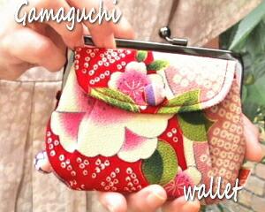 がま口 財布 ゆめか 小銭入れ  コインケース 財布 親子がま口 財布 和柄 かわいい がま口