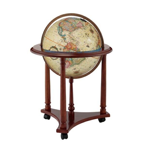 リプルーグル地球儀 ラファイエット型 アンティーク地図 英語版