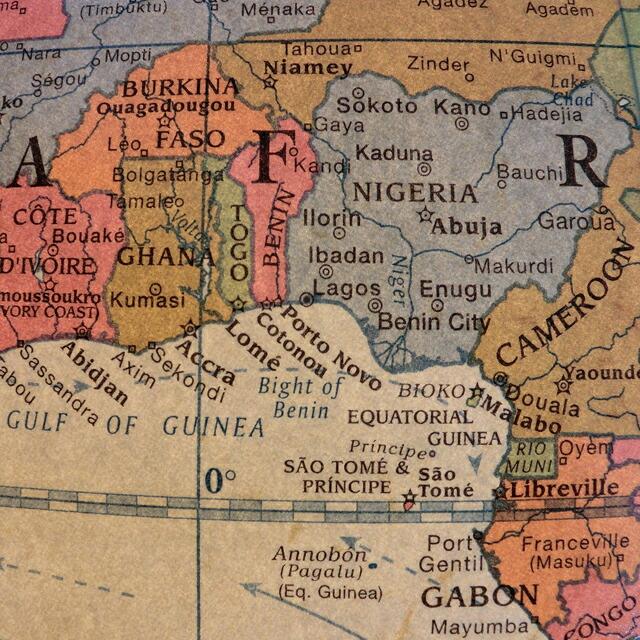 リプルーグル地球儀 ステイツマン型 アンティーク地図 英語版