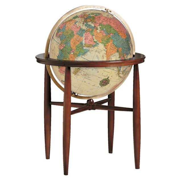 リプルーグル地球儀 フィンレイ型 アンティーク地図 英語版