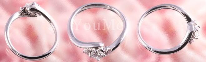 デザイン、品質、ピンクダイヤ付とこれ以上はないエンゲージリングです!