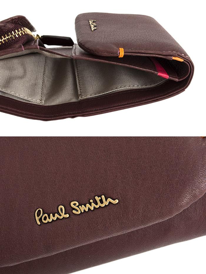 ポールスミス 財布 三つ折り財布