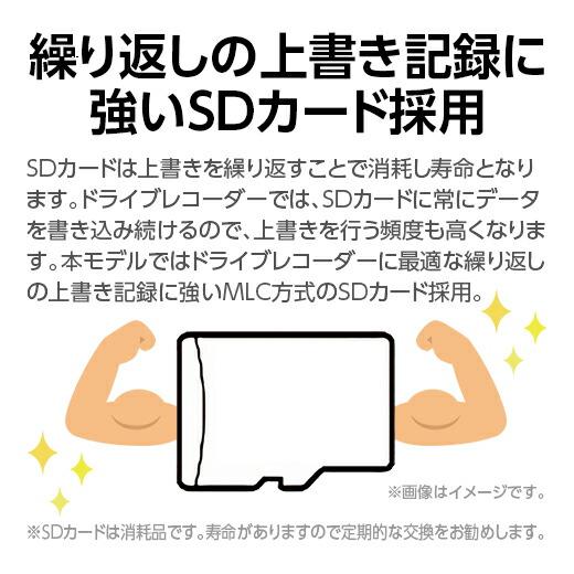 SDカードチェック機能搭載