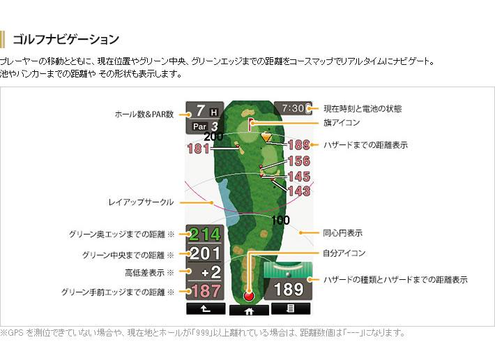 ゴルフナビ AGN 4800