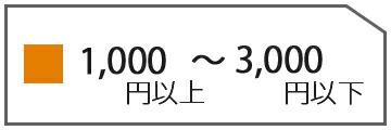 3000円以下