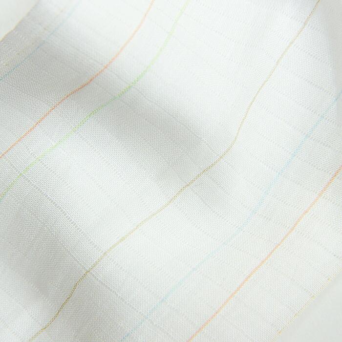 小千谷縮本麻夏のかんたん半衿のアップ画像