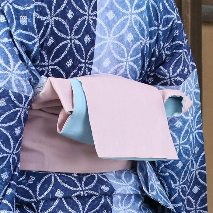 綿麻ゆかた用半幅帯のイメージ画像