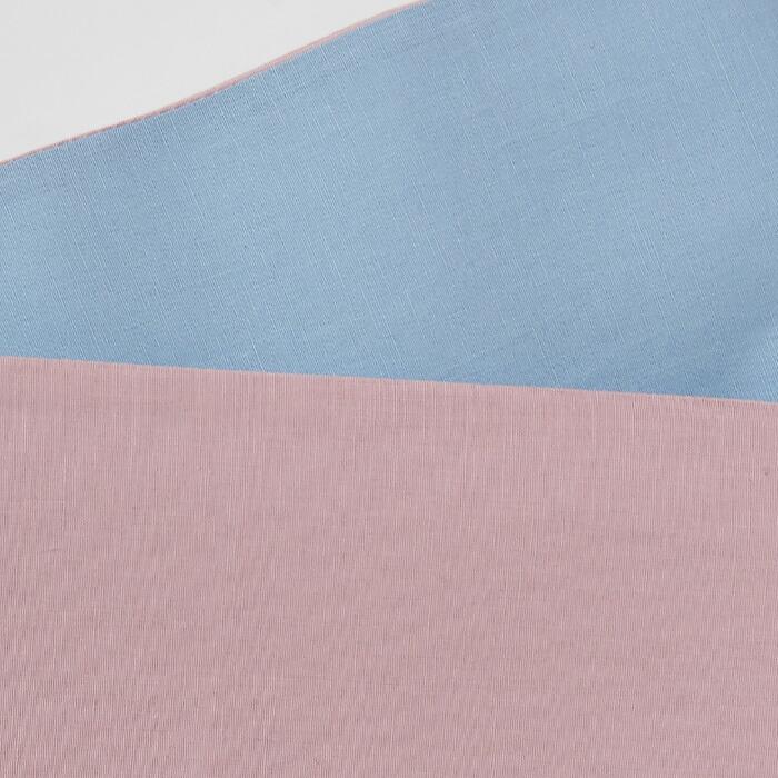 綿麻ゆかた用半幅帯のリバーシブル画像