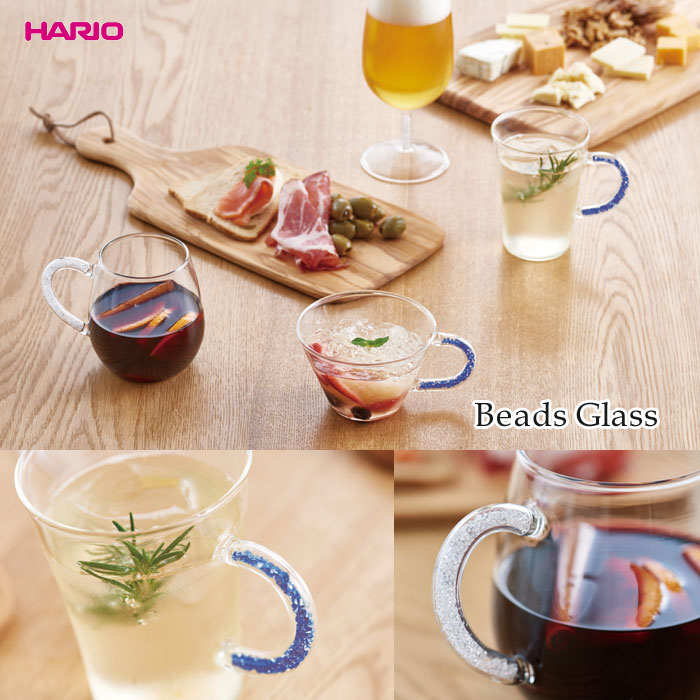 240 HARIO Beads Glass Wide 240 ml BW T