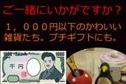 1,000円以下の雑貨たち