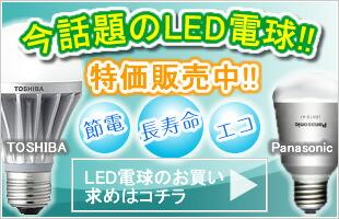 LED電球通販ページ