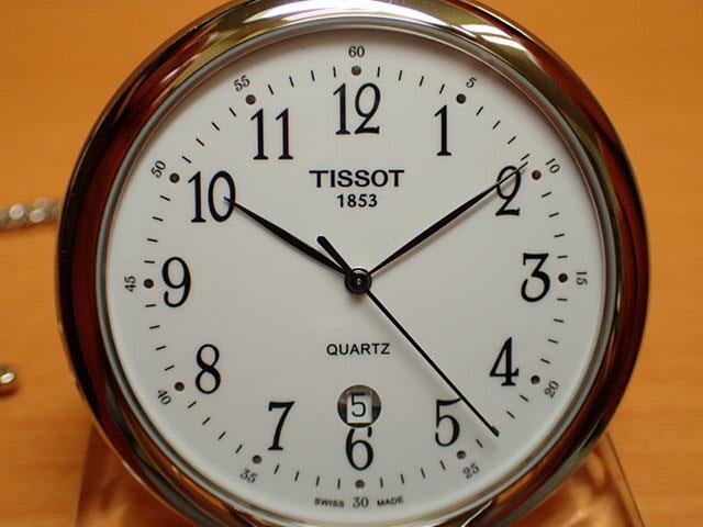 ティソ 懐中時計