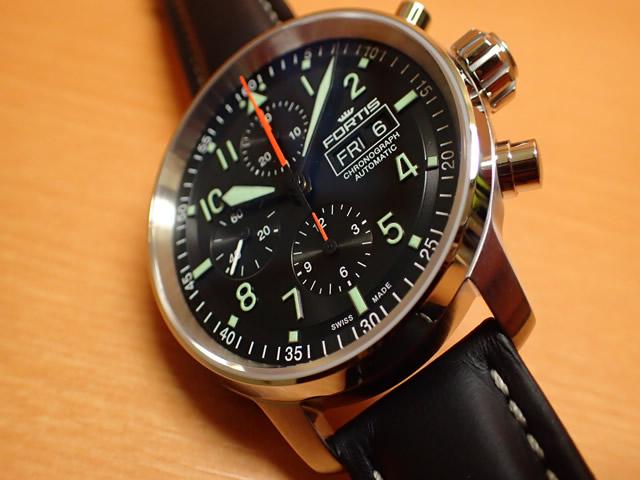 afce5c07c7 フォルティス 腕時計 FORTIS Flieger Pro Chronographフリーガープロ ...
