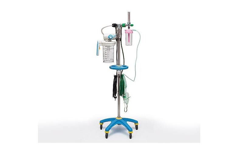 商品説明画像:酸素吸入・吸引スタンド S型 シュレーダー方式 アムコ型