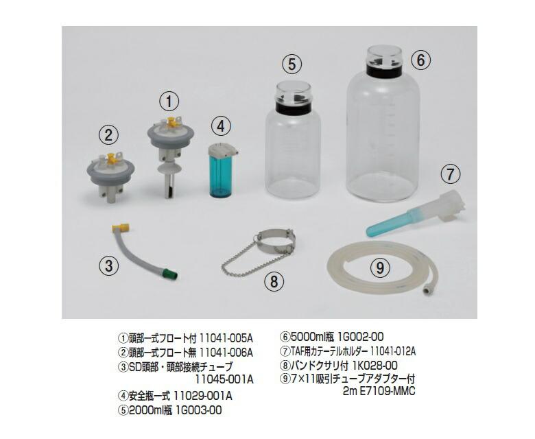 商品説明画像:TAF-SDシリーズ用交換・オプション部品
