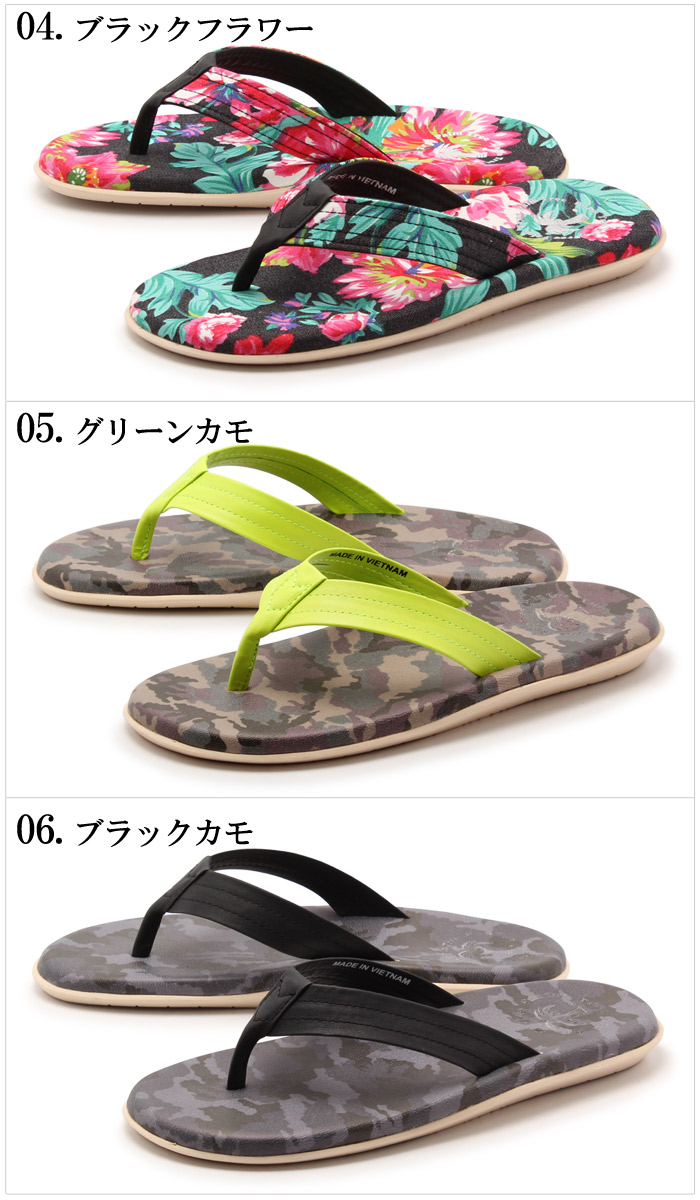 a2caeff7c6e83 z-craft  Palm tree thong Sandals all 6 designs (the PALM TREE PT-121 ...