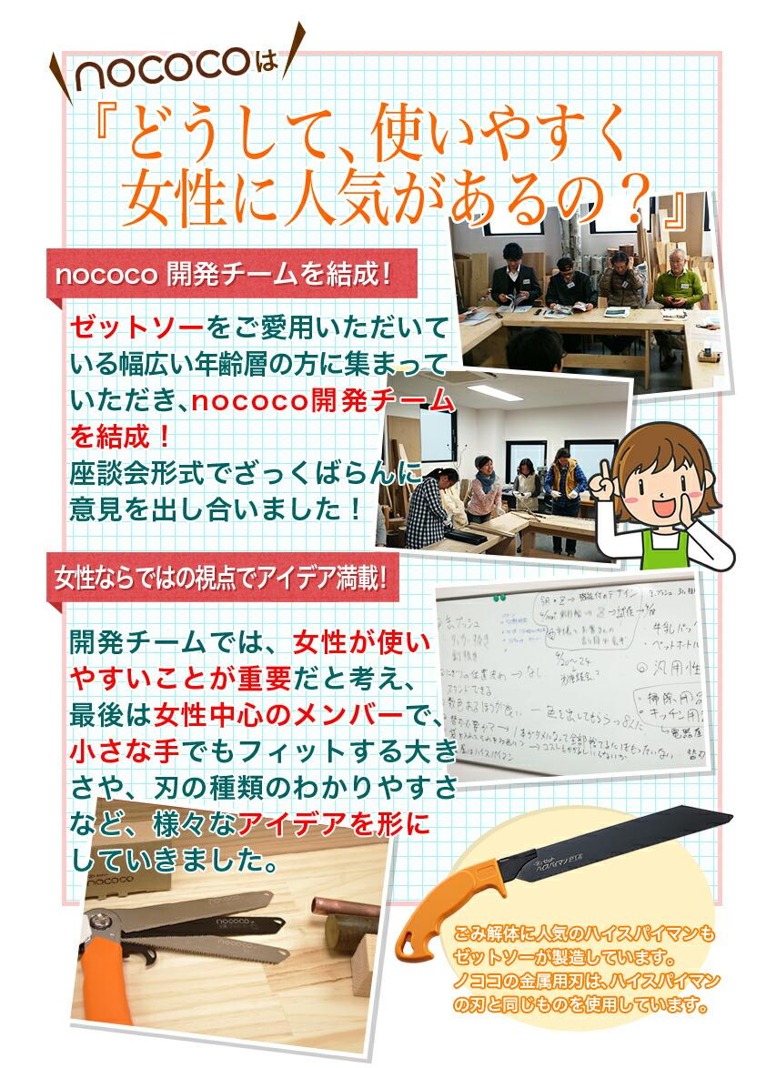 nococo(ノココ)はどうして使いやすく、女性に人気があるの?