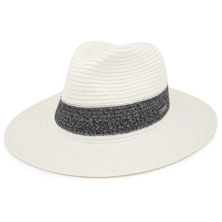 帽子屋Zaction -帽子&ヘアバンド- の帽子/麦わら・ストローハット・カンカン帽 3.ホワイト