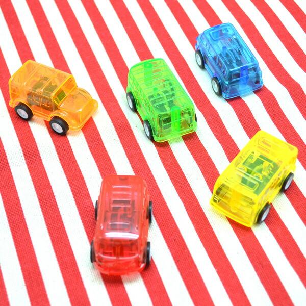 【50個セット】ビュンビュンカー プルバックカー プルバック くるま おもちゃ 玩具 レッド オレンジ ブルー グリーン …