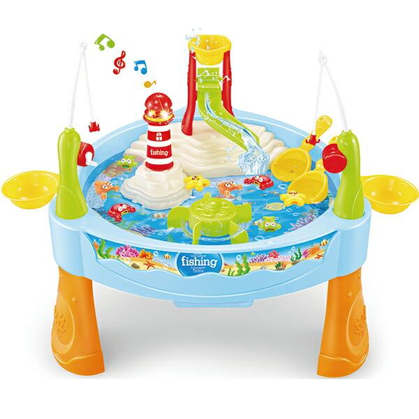 【おうちあそび】すいすいウォーターフィッシングゲーム テーブルゲーム さかな つり さかなつり まわる すいすい 海…