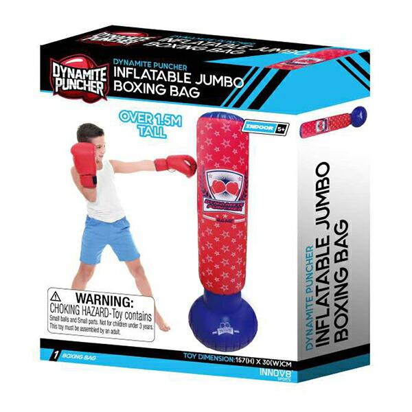 【スポーツ玩具】パンチング ジャンボボクシングバッグ JUMBO BOXING BAG インドア おもちゃ 室内 巣ごもり 玩具 イベ…