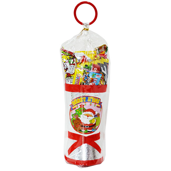 26cm お菓子 詰め合わせ サンタブーツ サンタクロース Christmas プレゼント 子ども会 子供会 クリスマスブーツ 銀