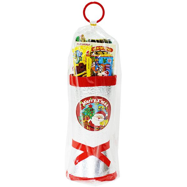 34cm お菓子 詰め合わせ サンタブーツ サンタクロース Christmas プレゼント 子ども会 子供会 クリスマスブーツ 銀