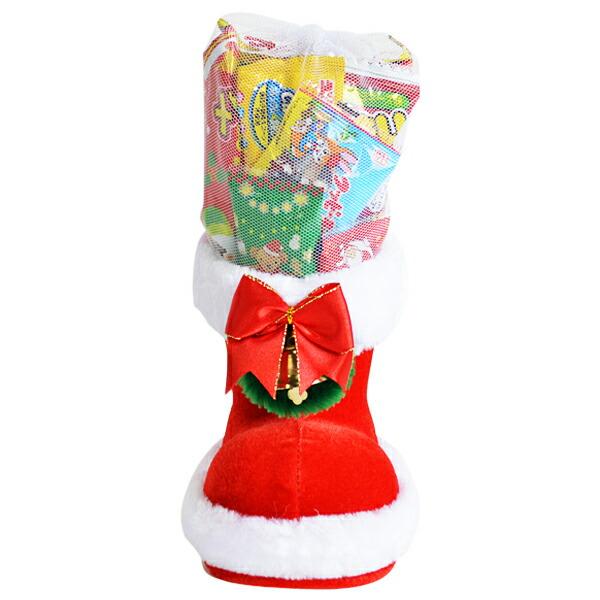 25cm お菓子 詰め合わせ サンタブーツ サンタクロース Christmas プレゼント 子ども会 子供会 クリスマスブーツ 6インチ