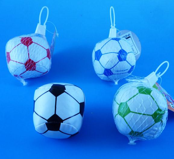 【単価72円(税別)×12個セット】やわらかサッカーボール おもしろ雑貨 ザッカ ビンゴ景品 バザー