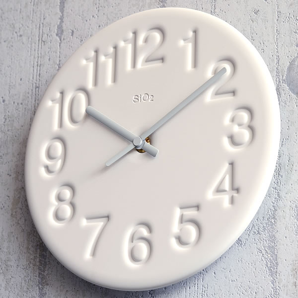 レムノス珪藻土の時計