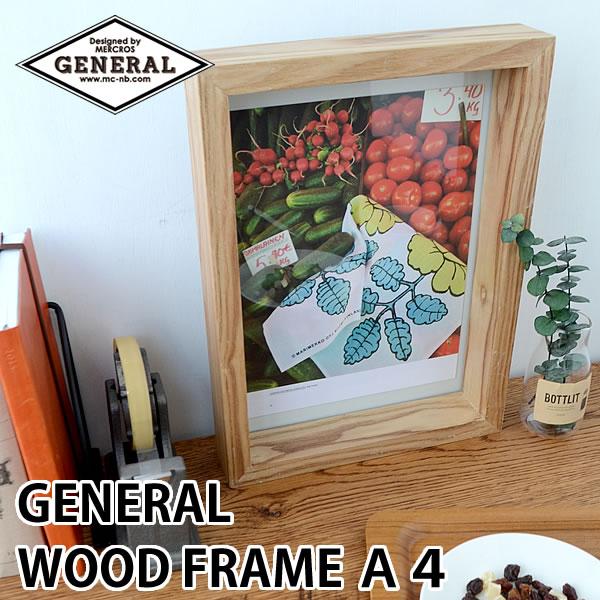 GENERAL WOOD FRAME A4