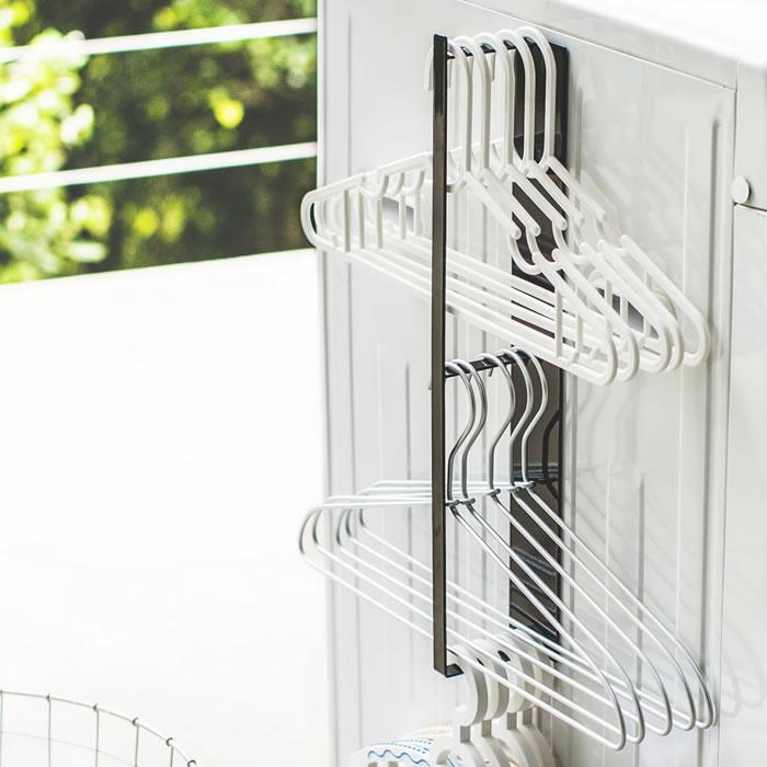 マグネット洗濯ハンガー収納ラック タワー
