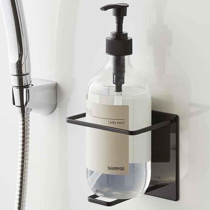マグネット バスルームチューブ&ボトルホルダー タワー L